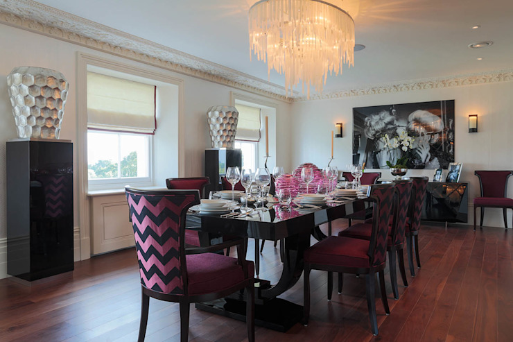 Lancasters Show Apartments - Dining Room 2 LINLEY London 餐廳