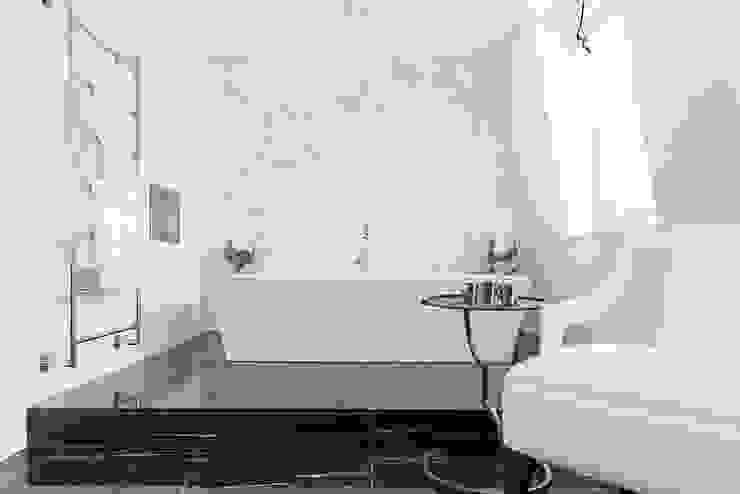 Lancasters Show Apartments - Bathroom LINLEY London 現代浴室設計點子、靈感&圖片