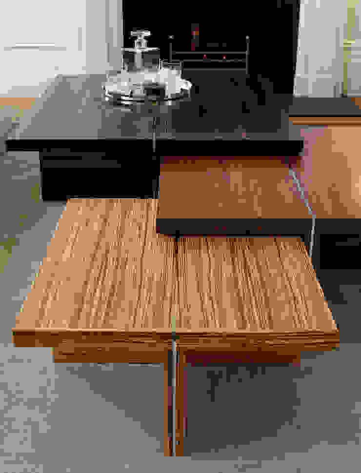 Lancasters Show Apartments - Furniture LINLEY London 现代客厅設計點子、靈感 & 圖片