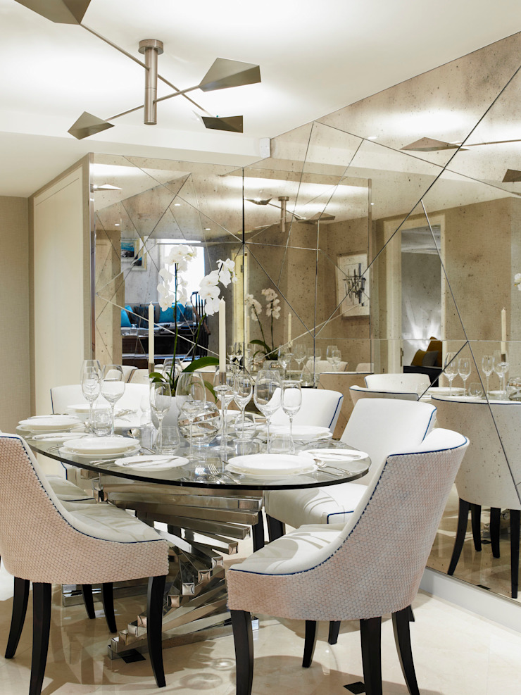 Lancasters Show Apartments - Dining Room LINLEY London 餐廳