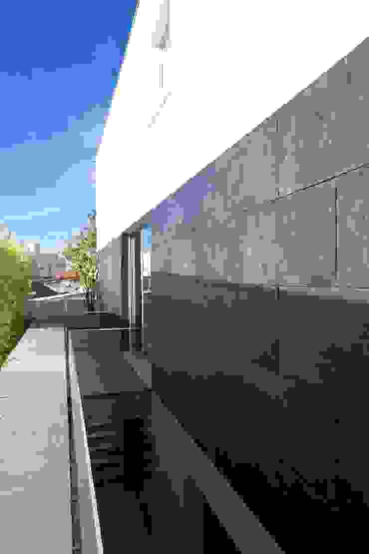 Casa A.F. | atelier d'arquitectura J. A. Lopes da Costa Casas modernas por Atelier d'Arquitetura Lopes da Costa Moderno Ardósia