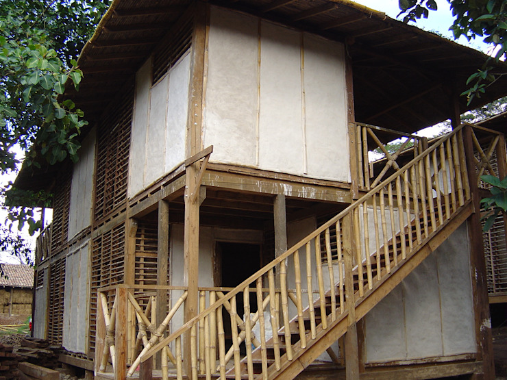 ABCDEstudio บ้านและที่อยู่อาศัย ไม้ Wood effect