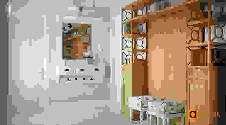Оригинальный прованс Коридор, прихожая и лестница в стиле лофт от Artichok Design Лофт