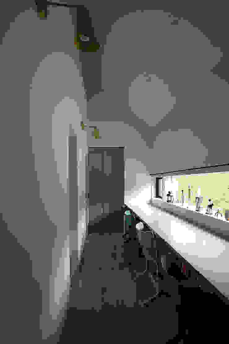 スタディールーム インダストリアルデザインの 子供部屋 の 小林良孝建築事務所 インダストリアル