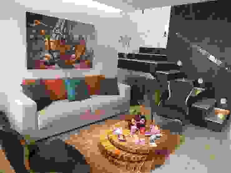 Sala de Estar Salas de estar modernas por Arquitetura Ecológica Moderno