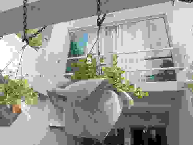 Fachada residência Casas modernas por Arquitetura Ecológica Moderno
