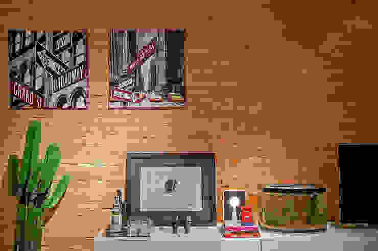 Salas / recibidores de estilo  por Studio Boscardin.Corsi Arquitetura, Moderno