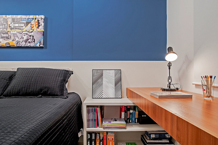 Apartamento LB Studio Boscardin.Corsi Arquitetura Quartos modernos