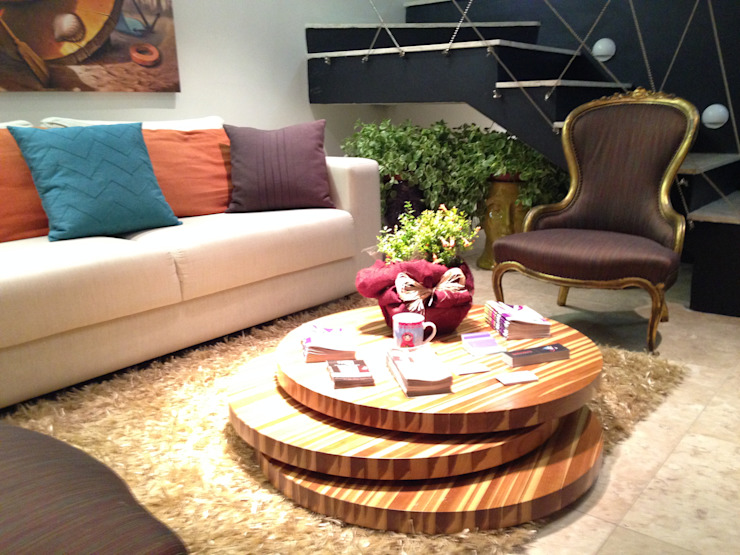 Living Salas de estar modernas por Arquitetura Ecológica Moderno