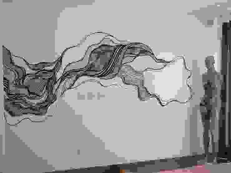 Pintura em parede Quartos modernos por Arquitetura Ecológica Moderno