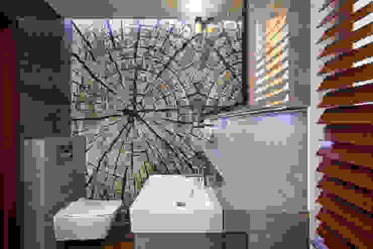 Kamar Mandi Modern Oleh Viva Design - projektowanie wnętrz Modern Ubin