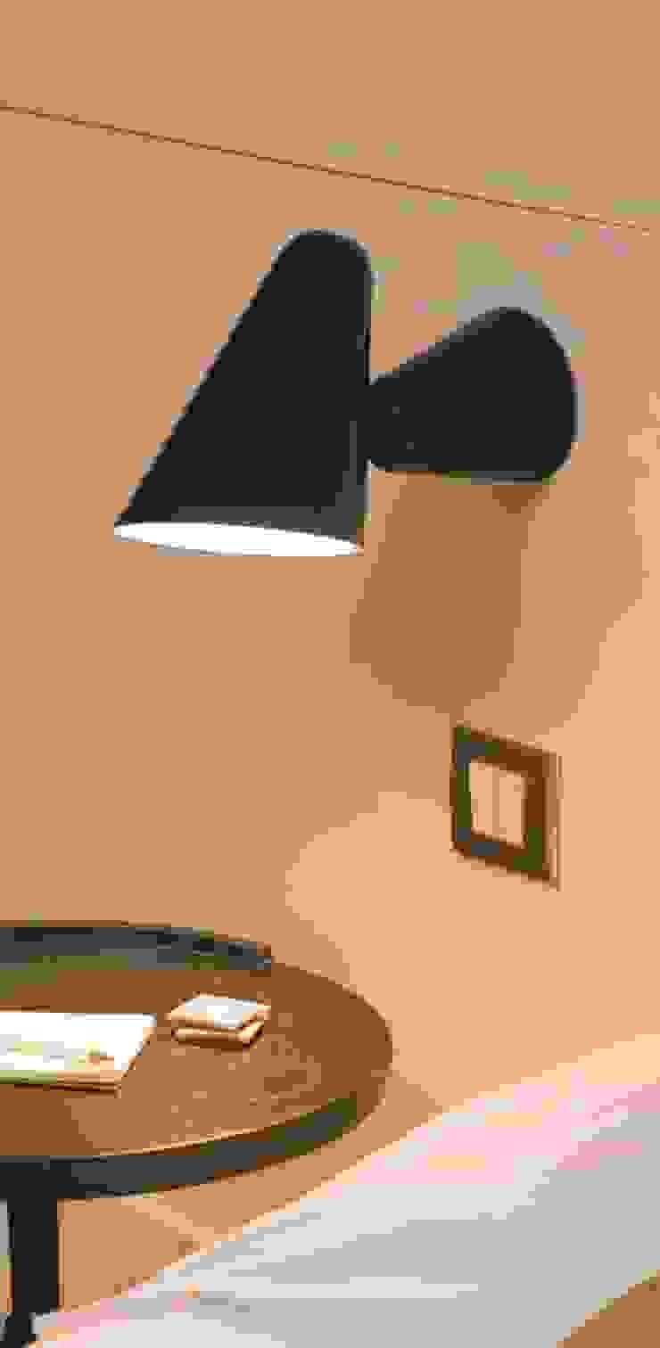 APPLIQUE MURALE, DON CAMILLO, NOIR, H55CM - FORMAGENDA NEDGIS ChambreEclairage Aluminium/Zinc Noir