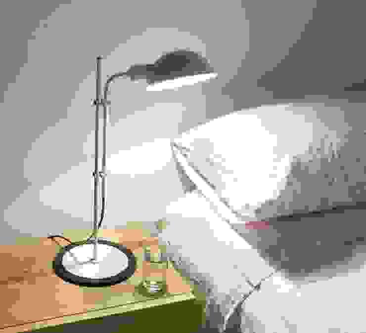LAMPE DE BUREAU, FUNICULI, BLANC, H50,3CM - MARSET NEDGIS ChambreEclairage Aluminium/Zinc Gris