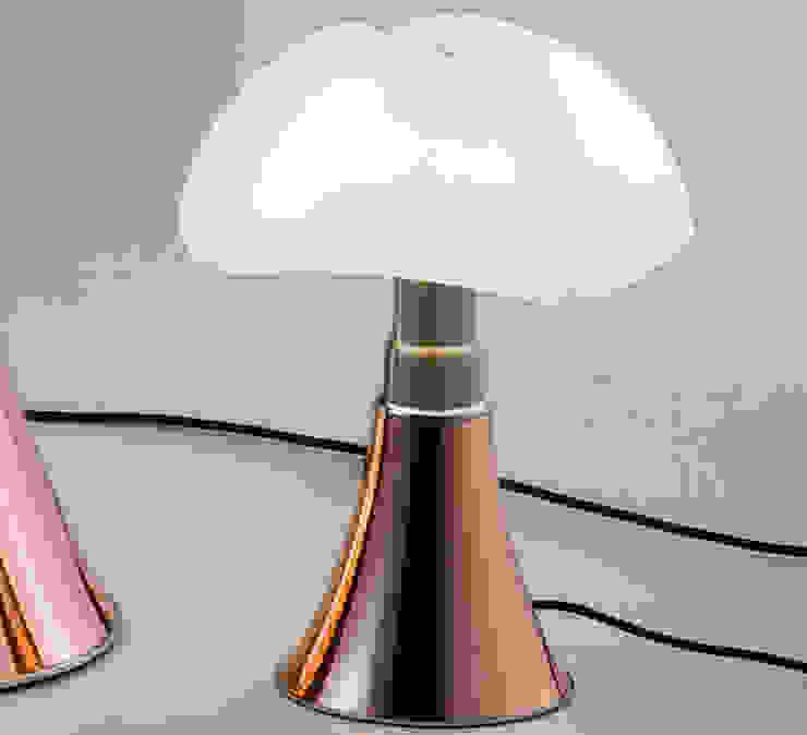 LAMPE À POSER, MINIPIPISTRELLO TACTILE, LED, CUIVRE, H35CM - MARTINELLI-LUCE NEDGIS ChambreEclairage Plastique Blanc