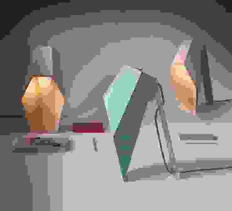 LAMPE À POSER, WOODSPOT, H44CM - SELETTI NEDGIS ChambreEclairage Bois