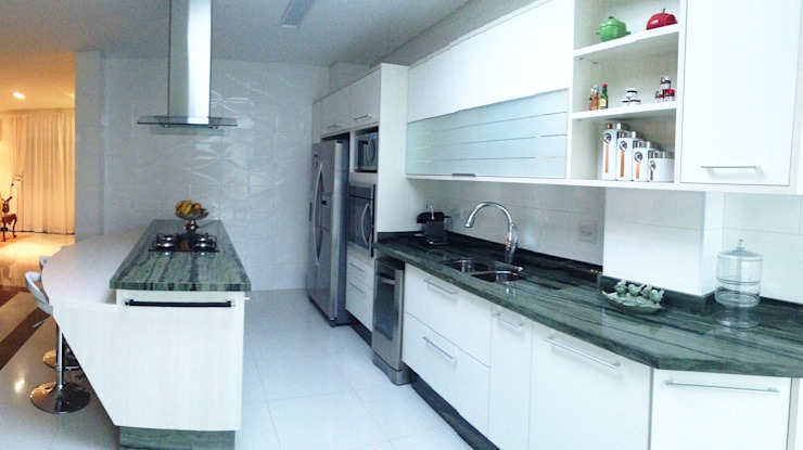 Moderne keukens van Arquitetura Ecológica Modern