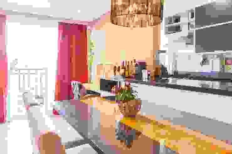 Apartamento Single - São Paulo - Brasil Salas de jantar ecléticas por Arquitetura Ecológica Eclético