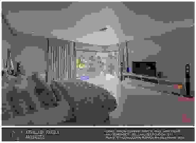 Casa El paso IV Dormitorios modernos: Ideas, imágenes y decoración de ARRILLAGA&PAROLA Moderno