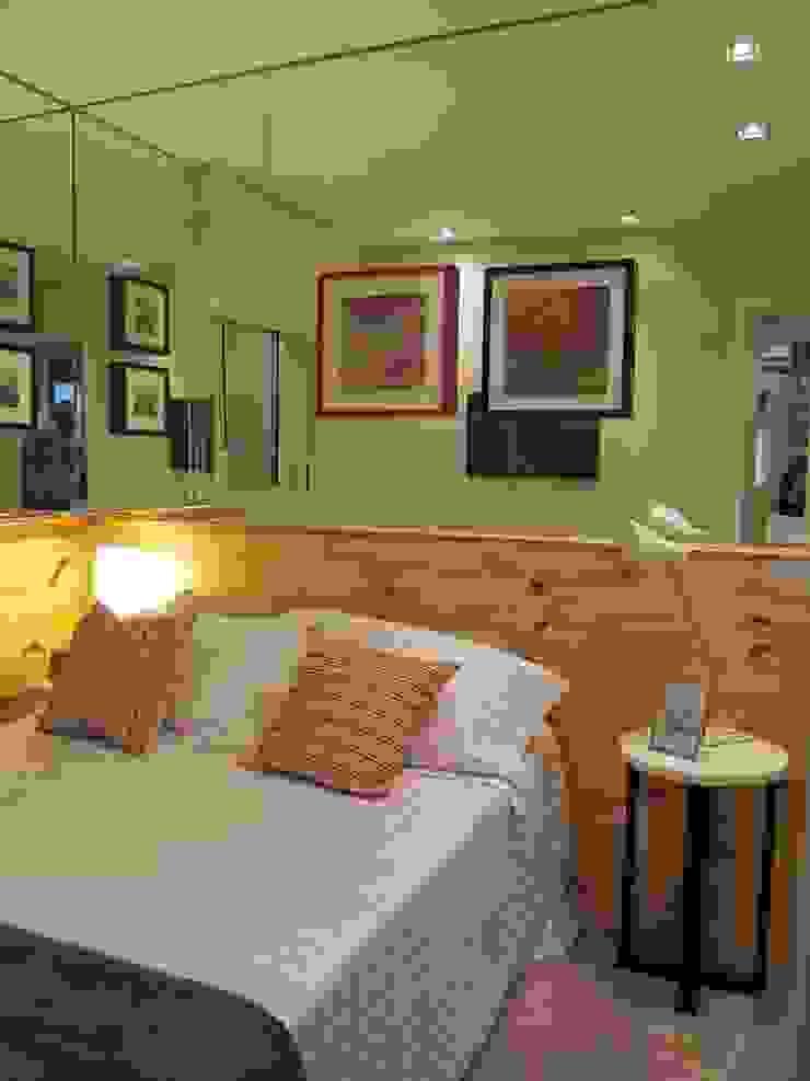 Decorado 49m² Quartos ecléticos por Fabiana Rosello Arquitetura e Interiores Eclético