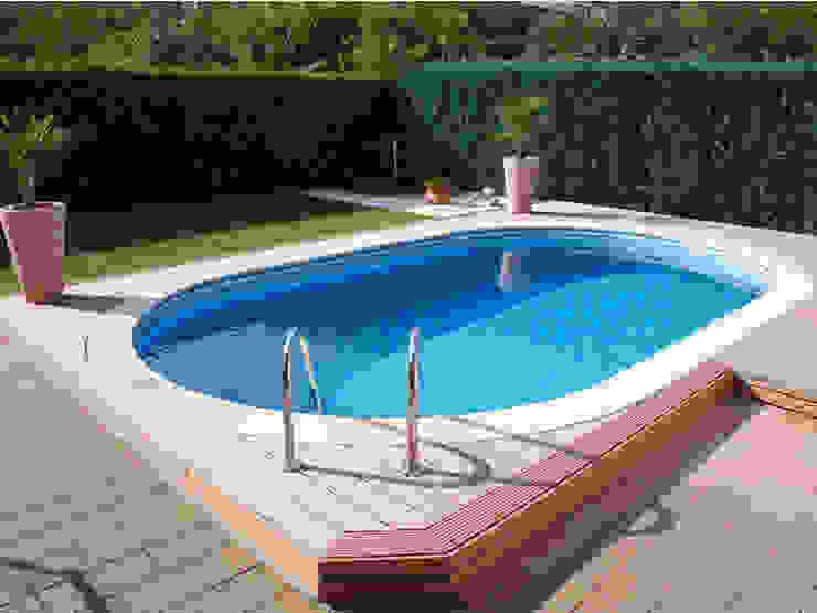 32m2 PREFABRİK HAVUZ Modern Havuz ART HAVUZ SİSTEMLERİ Modern