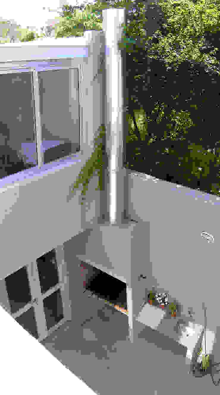 PH en Villa del Parque Jardines modernos: Ideas, imágenes y decoración de PERSPECTIVA Moderno