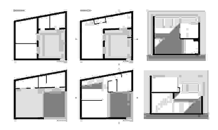 Lo existente y la propuesta.:  de estilo  por PERSPECTIVA