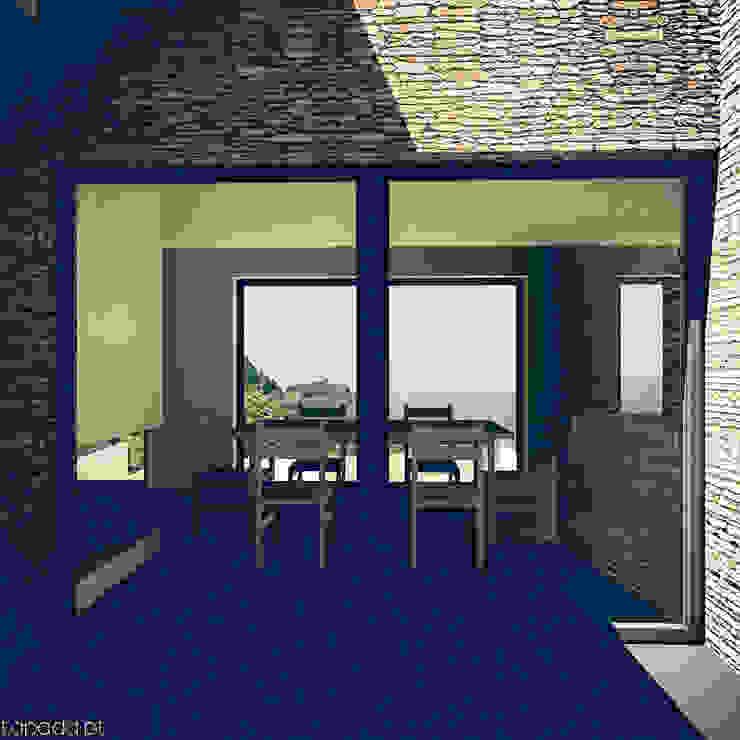 Casa em Barrancos Casas modernas por Tapada arquitectos Moderno Pedra