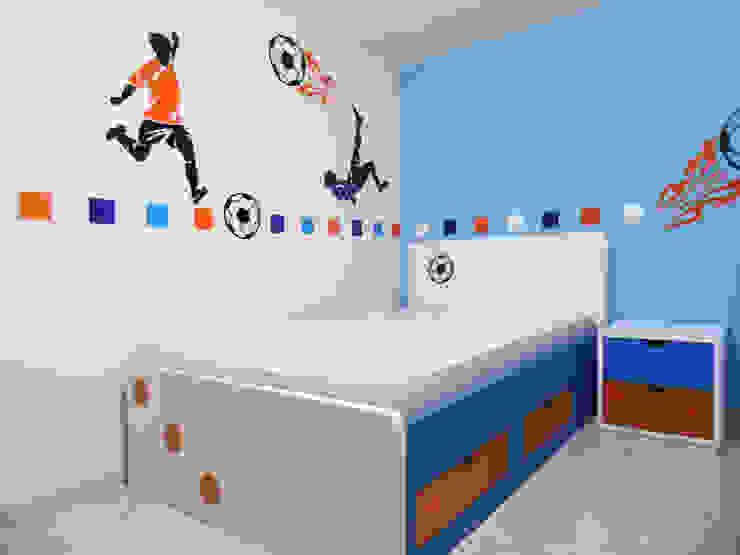 Habitación Juvenil de Fiordana Diseño Interior Moderno Madera Acabado en madera