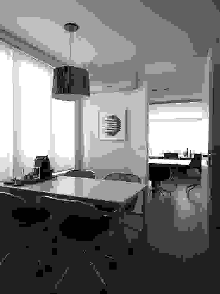 Apartamento Vila Nova Conceição 1 Cozinhas modernas por Antônio Ferreira Junior e Mário Celso Bernardes Moderno