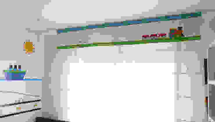 Cenefa de cortina de Fiordana Diseño Interior Moderno Algodón Rojo