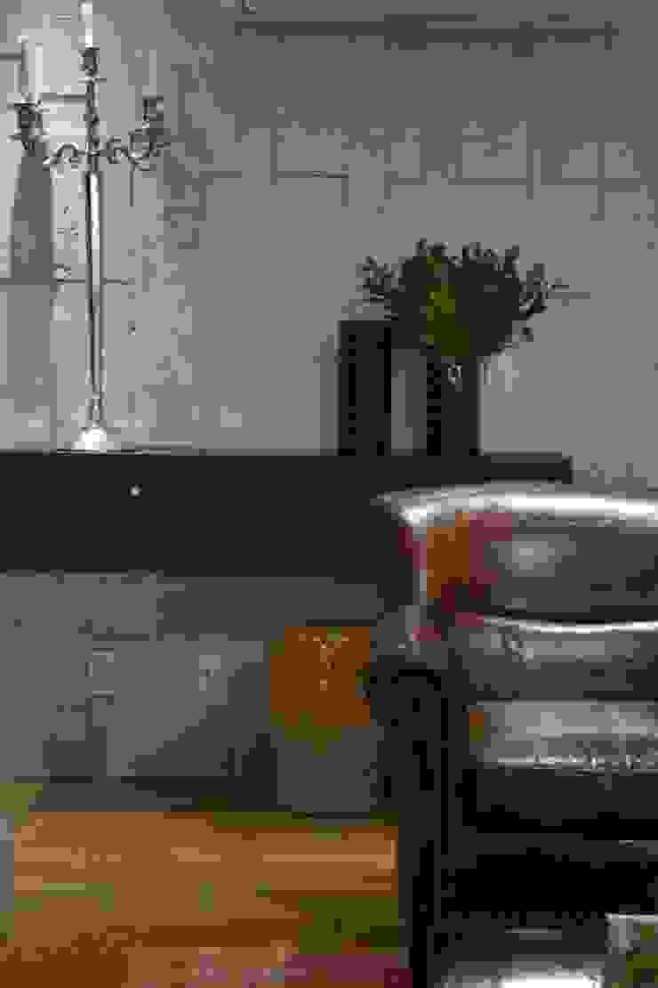 Morar e receber bem Salas de estar modernas por Marcelo Minuscoli - Projetos Personalizados Moderno
