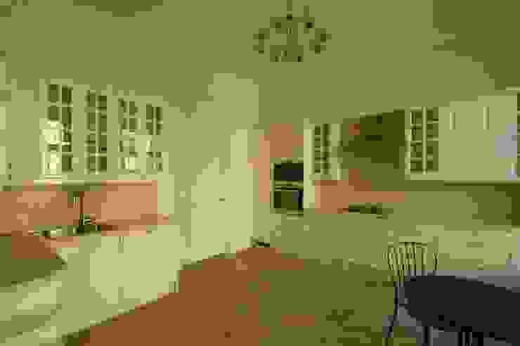 Chistie Prudy flat. Total reconstruction. Cuisine classique par Alexander Krivov Classique