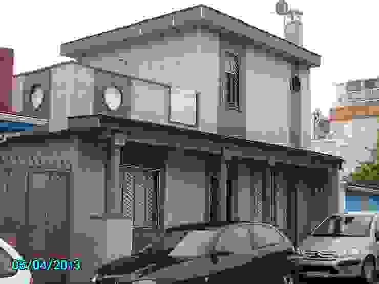 EXTENSION AND REFORM HOUSE diseño y construcción acima,s.l. Casas de estilo moderno Cerámico