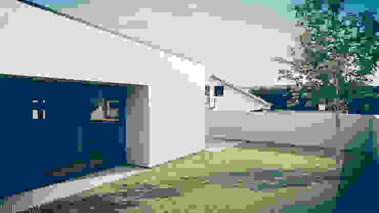 Casa no Pinhal do General Casas modernas por Tapada arquitectos Moderno