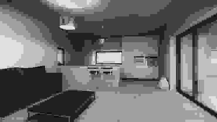 Casa no Pinhal do General Cozinhas modernas por Tapada arquitectos Moderno