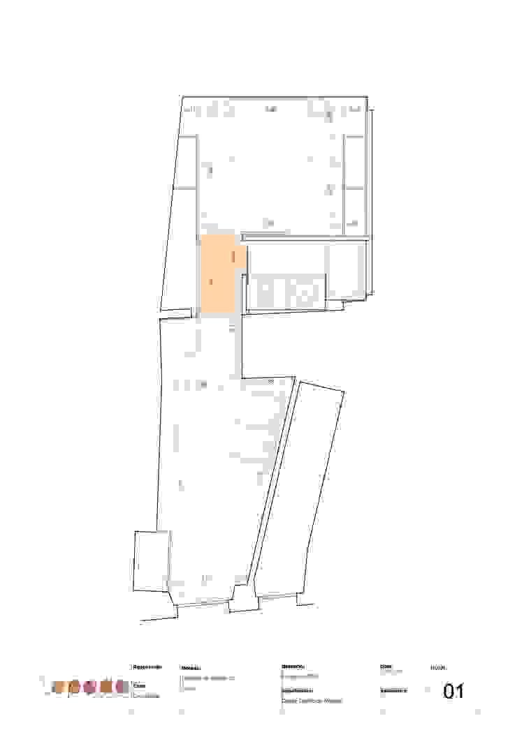 Recuperação em Évora por Tapada arquitectos Moderno