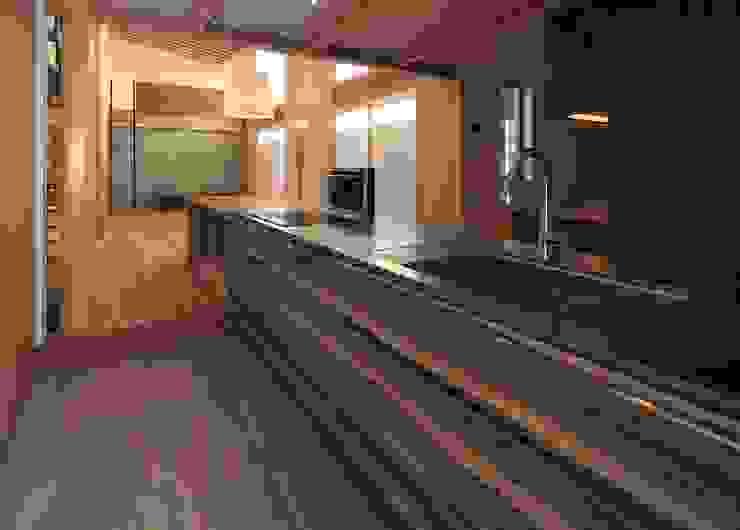 SITSUKAWA HOUSE 和風の キッチン の 髙岡建築研究室 和風