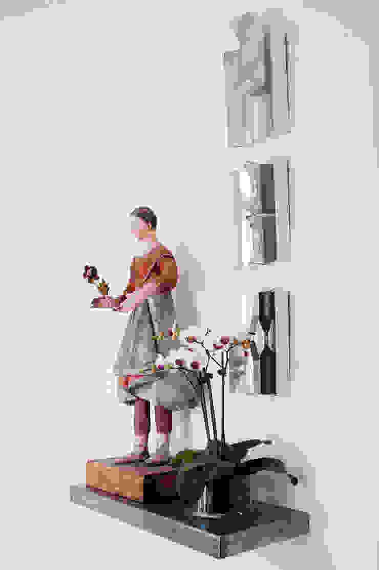 Antonio Martins Interior Design Inc Eclectic style corridor, hallway & stairs