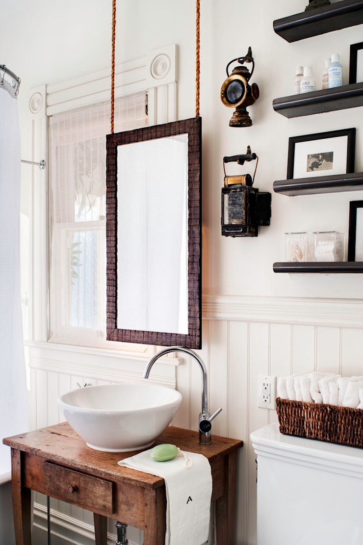 Antonio Martins Interior Design Inc Eclectic style bathroom