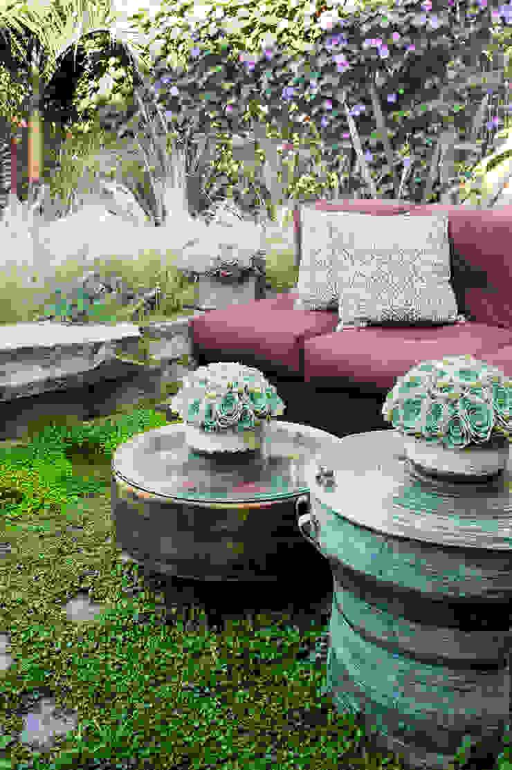 Antonio Martins Interior Design Inc Eclectic style garden