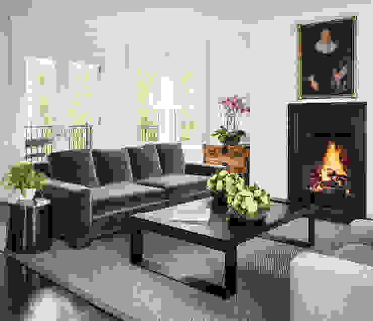 Casa em Sao Francisco – Pacific Heights Salas de estar modernas por Antonio Martins Interior Design Inc Moderno