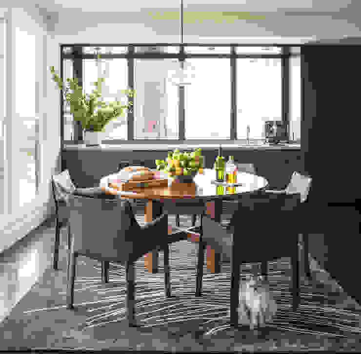 Casa em Sao Francisco – Pacific Heights Salas de jantar modernas por Antonio Martins Interior Design Inc Moderno