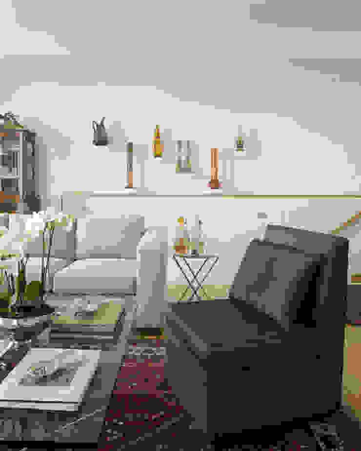 Penthouse em Lisboa Salas de estar clássicas por Antonio Martins Interior Design Inc Clássico