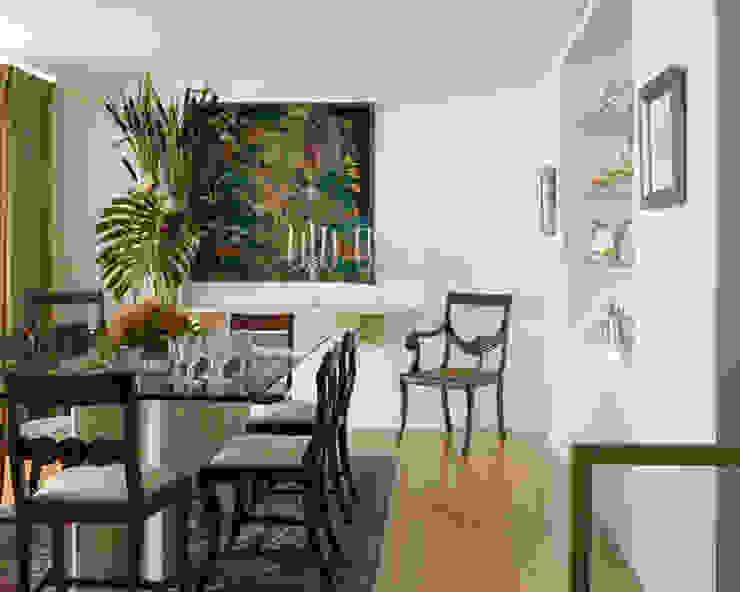 Penthouse em Lisboa Salas de jantar clássicas por Antonio Martins Interior Design Inc Clássico