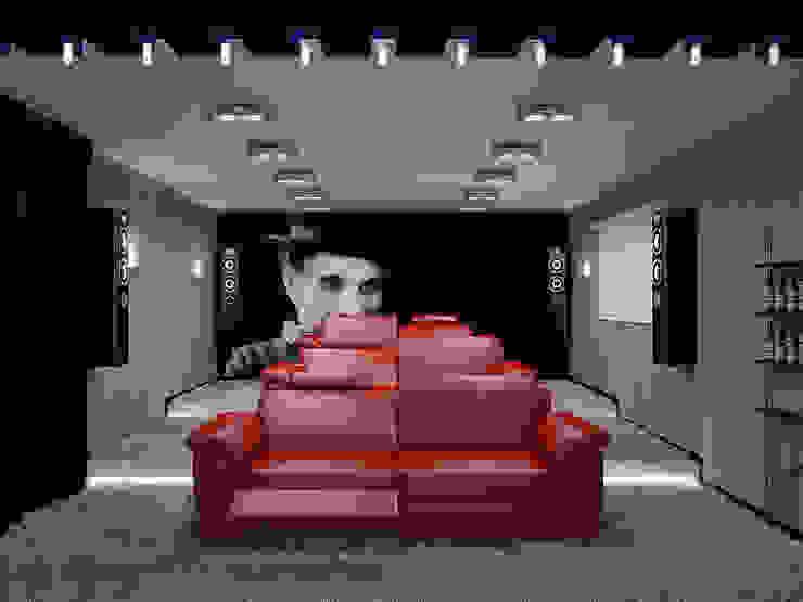 Медиа комнаты в эклектичном стиле от homify Эклектичный