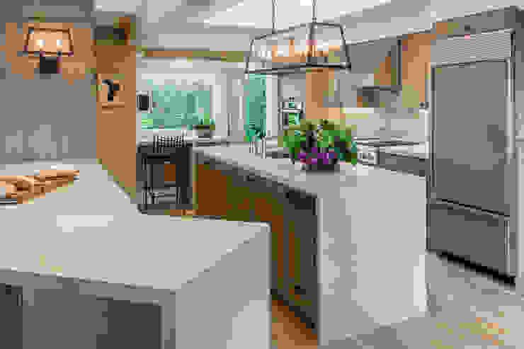 Cozinha em Sausalito Cozinhas modernas por Antonio Martins Interior Design Inc Moderno