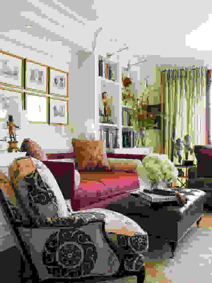 Antonio Martins Interior Design Inc Ruang Keluarga Klasik