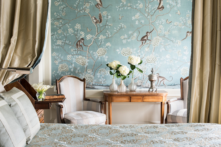 Antonio Martins Interior Design Inc Kamar Tidur Klasik