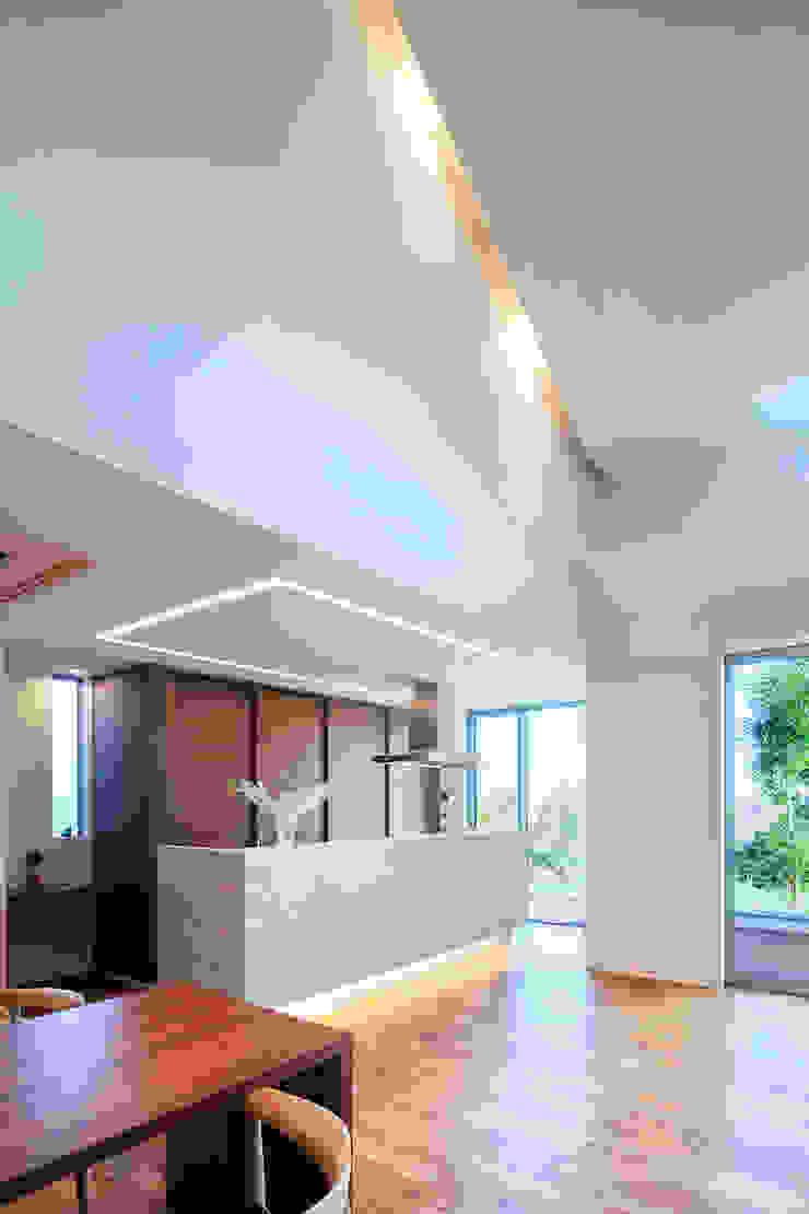 I3-house「丘の上にある造形」 モダンな キッチン の Architect Show Co.,Ltd モダン