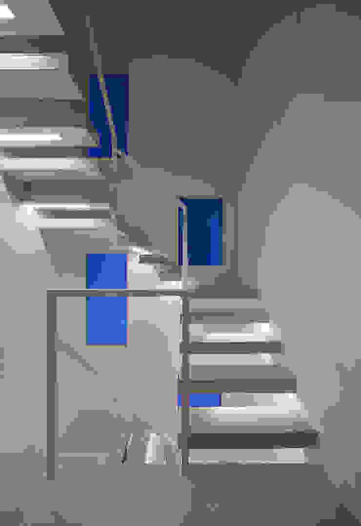 Y8-house「木と石の家」 モダンスタイルの 玄関&廊下&階段 の Architect Show Co.,Ltd モダン